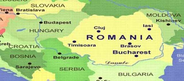 Harta-Romania-Ungaria - Romania Military